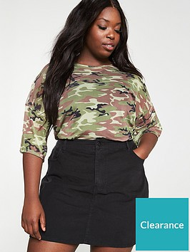 v-by-very-curve-mesh-drop-shoulder-tee-camo-print