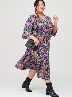 v-by-very-curve-boho-floral-midi-dress-print