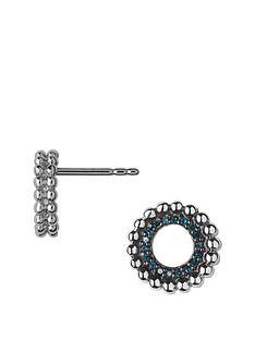 links-of-london-effervescence-sterling-silver-blue-diamond-stud-earrings