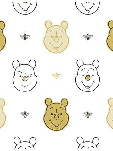 disney-winnie-the-pooh-bee-gold-wallpaper