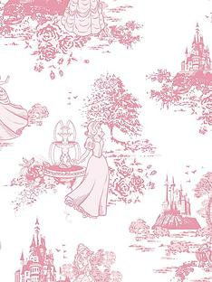 disney-princess-toile-wallpaper