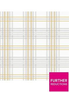 superfresco-easy-country-tartan-grey-yellow-wallpaper