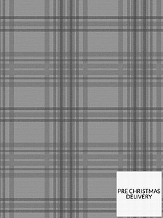 superfresco-easy-country-tartan-charcoal-wallpaper