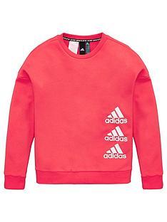 adidas-childrens-jg-mh-crew-sweatshirt-pink