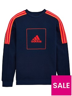 adidas-childrens-aac-crew-neck-top-navy