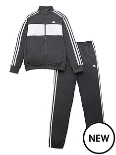 adidas-childrens-jb-dmh-3-stripe-full-zip-hoodie-tracksuit-grey