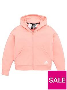 adidas-childrens-crew-zip-front-hoodie-pink