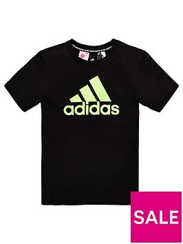 adidas-childrens-bos-short-sleeve-t-shirt-black