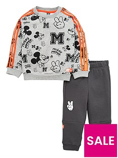 adidas-disney-childrens-mickey-mouse-sweatshirt-and-joggers-set-medium-grey-heather