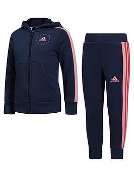 adidas-girls-2-piece-joggers-and-zip-through-hoodie-set-indigonbsp