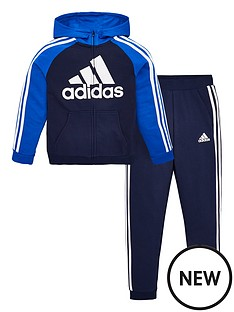 adidas-childrens-lk-b-ft-tracksuit-navy