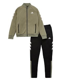 adidas-childrens-yb-xfg-tracksuit-green