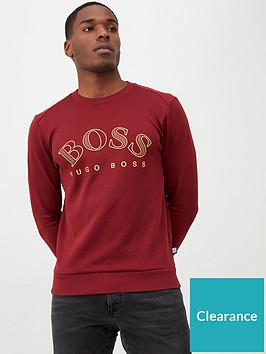 boss-salbo-large-logo-crew-sweatshirt-burgundy