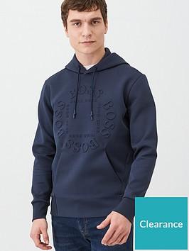 boss-sly-embossed-logo-overhead-hoodie-navy