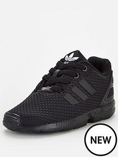 adidas-originals-zx-flux-el-infant-trainers-black