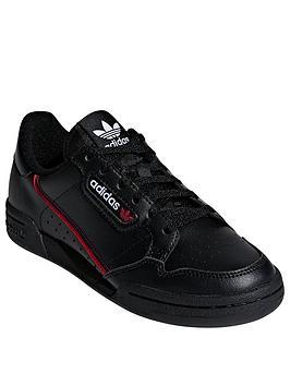 adidas-originals-continental-80-junior-trainers-black