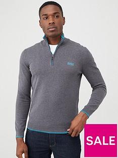boss-zimex-s20-half-zip-jumper-grey