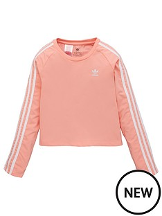 adidas-originals-childrens-3-stripe-long-sleeve-t-shirt-pink