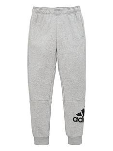 adidas-childrens-badge-of-sport-pants-grey