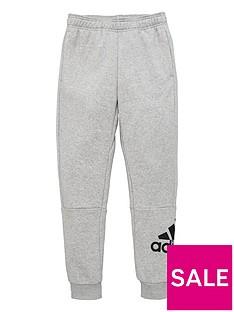adidas-childrens-badge-of-sport-pants-grey