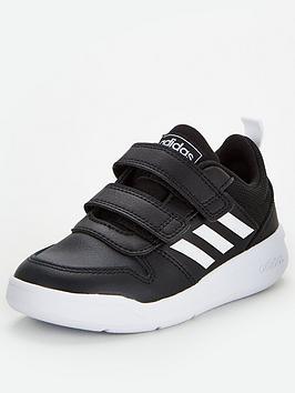 adidas-tensaur-childrens-trainers-black