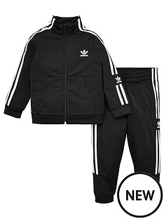 adidas-originals-childrens-lock-up-tracksuit-black