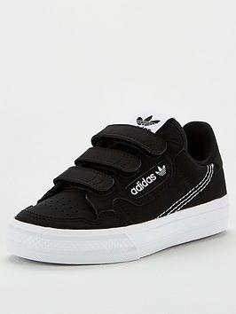 adidas-originals-continental-vulc-cf-childrens-trainer-black