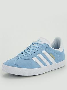 adidas-originals-gazelle-junior-trainers-light-blue