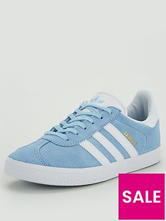 adidas-originals-gazelle-junior-trainers-light-blue