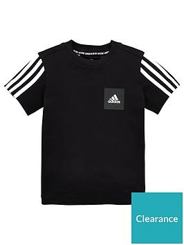 adidas-junior-boys-must-haves-logo-tee-black