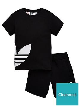 adidas-originals-bg-trefoil-shorts-set-black