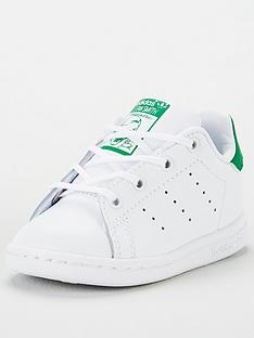 adidas-originals-stan-smith-infant-trainers-whitegreen