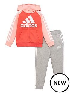 adidas-childrens-jb-dmh-3-stripe-hoodie-tracksuit-pink