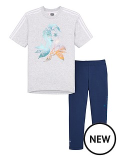 adidas-childrens-lg-disney-frozen-t-shirt-and-leggings-set-light-grey-heather