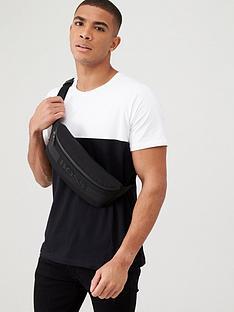 boss-two-tone-colour-block-lounge-t-shirt-blackwhite