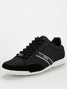 boss-saturn-low-profile-trainers-black