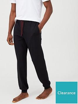 boss-lightweight-cuffed-lounge-pants-black