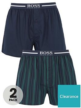 boss-2-pack-woven-boxer-shorts-navygreen