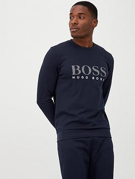 boss-silver-logo-lounge-top-navy