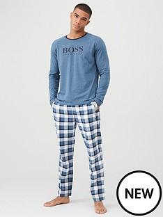 boss-contrast-logo-pyjama-gift-set-blue