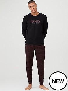 boss-interlock-cotton-gift-boxed-pyjamas-blackred