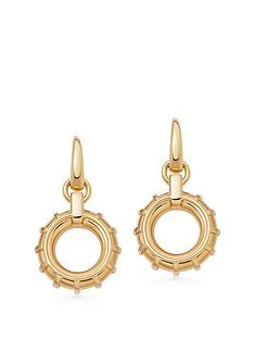 links-of-london-gold-vermeil-drop-hoop-earrings