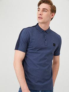 boss-pevided-two-tone-polo-shirt-blue