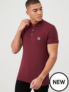 boss-passenger-slim-fit-polo-shirt-burgundy