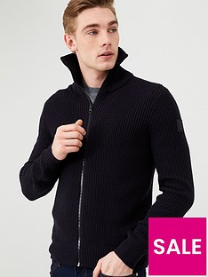 boss-kovent-cardigan-navy