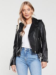 river-island-river-island-premium-leather-biker-jacket-black