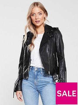 river-island-river-island-premium-leather-biker-jacket-black