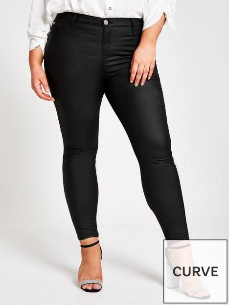 ri-plus-ri-plus-mid-rise-molly-coated-jeggings-black