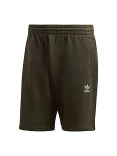 adidas-originals-essential-shorts-khaki