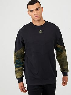 adidas-originals-camo-crew-neck-sweat-black